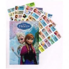 冰雪奇緣Frozen 姓名貼紙120張(大) (附贈精美MINI收藏夾一個)
