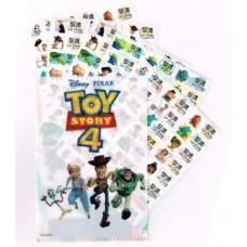 Toys4 姓名貼紙120張(大) (附贈精美MINI收藏夾一個)